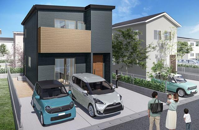 かえるホーム 鹿児島市吉野4 4LDK 新築一戸建て「吉野小エリアでお考えの方へおすすめの新築2階建て 」(鹿児島市)