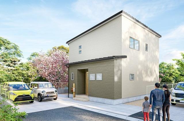 かえるホーム 東餅田14D 5LDK 新築一戸建住宅 かえるホームの建売住宅【2階建て】