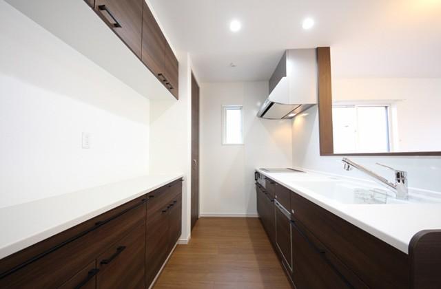キッチン - 建築実例 かえるホーム