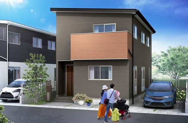 かえるホーム 東餅田 5LDK 建売モデルハウス プロテージ東餅田7-D