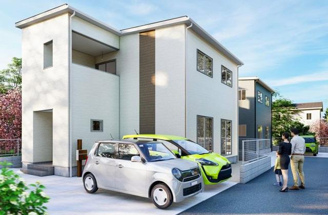 かえるホーム 加治木町反土3B 5LDK 新築一戸建て「子育て世代に嬉しい立地にある2階建て」(姶良市)