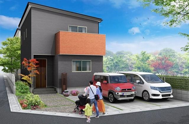 かえるホーム 国分広瀬3丁目 5LDK 建売モデルハウス 広瀬A