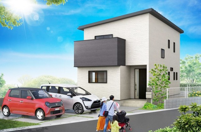 かえるホーム 宮之浦 5LDK 2階建て 建売モデルハウス (鹿児島市)
