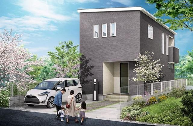 かえるホーム 紫原5丁目 4LDK 建売モデルハウス