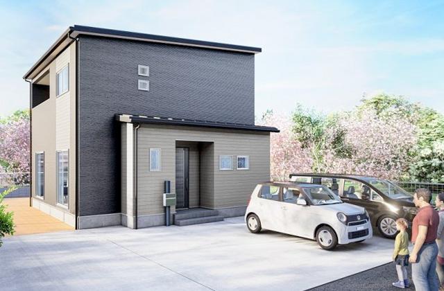 かえるホーム 西餅田4 5LDK 新築一戸建て「回遊できる間取りの2階建て」(姶良市)