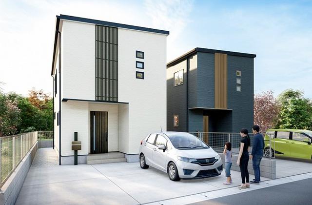 かえるホーム 桜ヶ丘2A 4LDK 新築一戸建て「桜ヶ丘の中心部で暮らす新築一戸建て」(鹿児島市)