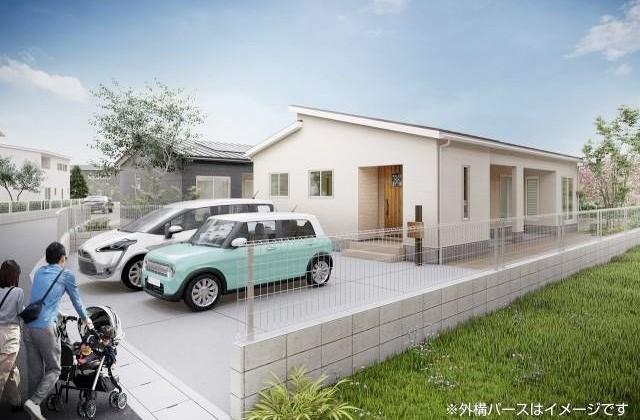 かえるホーム 清水IIIB 5LDK 平屋 建売モデルハウス (霧島市)