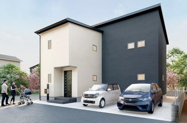 かえるホーム 下井C 5LDK 新築一戸建て「リビング階段で家族との会話が広がる家」(霧島市)