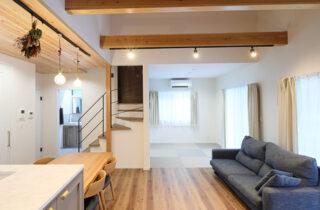 人気の平屋に+αの空間がある深呼吸をしたくなる家-カマダの家