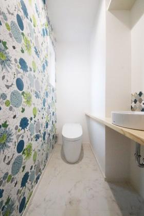 国分ハウジング 建築事例 トイレ