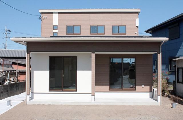 国分ハウジング 建築事例 1階寝室で老後の暮らしやすさまで考えた家