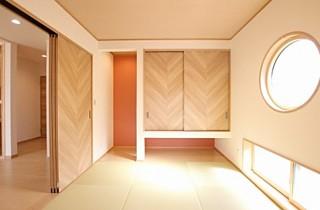 国分ハウジング 建築事例 和室