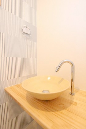 国分ハウジング 建築事例 洗面台