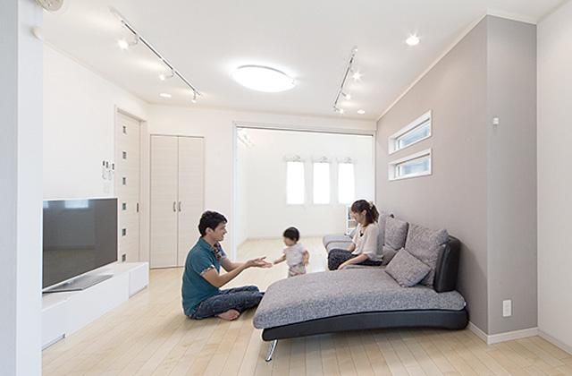子育て・家事ラクな家づくりの間取りプラン - 建築事例 - レオハウス