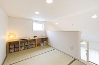 ロフト子育て・家事ラクな家づくりの間取りプラン - 建築事例 - レオハウス