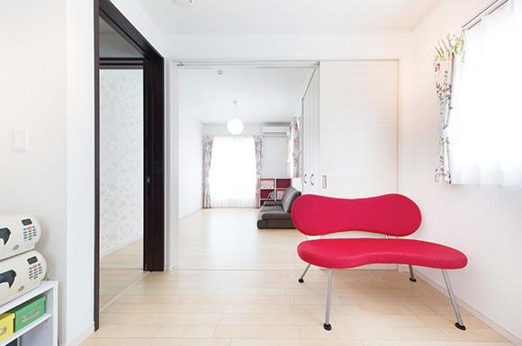 居室 - 子育て・家事ラクな家づくりの間取りプラン - 建築事例 - レオハウス