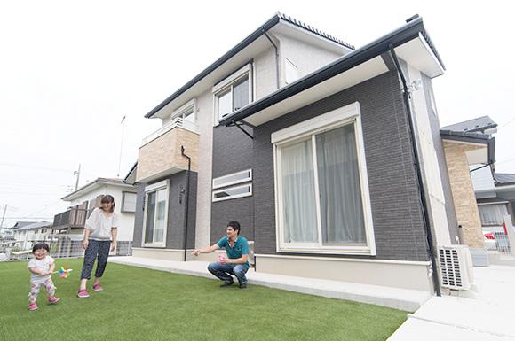 外観 - 子育て・家事ラクな家づくりの間取りプラン - 建築事例 - レオハウス