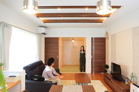 リビング - 大好きなインテリアに囲まれながら暮らす標準仕様なのに高性能で快適な家 - 建築事例 - レオハウス