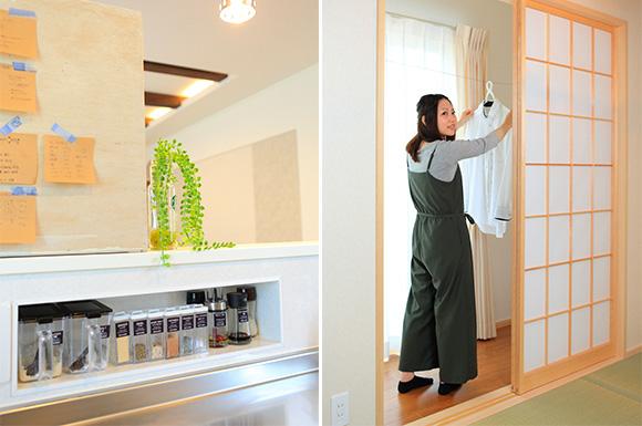 洗濯動線 - 大好きなインテリアに囲まれながら暮らす標準仕様なのに高性能で快適な家 - 建築事例 - レオハウス