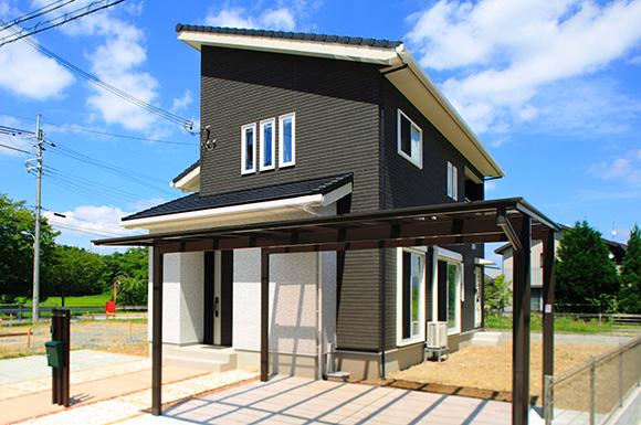 外観 - 大好きなインテリアに囲まれながら暮らす標準仕様なのに高性能で快適な家 - 建築事例 - レオハウス