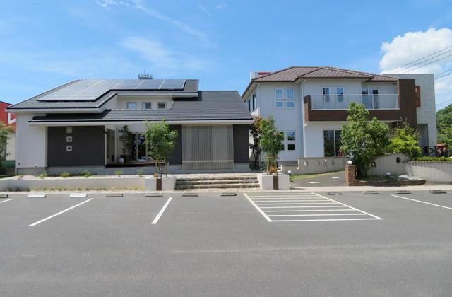 ヤマダレオハウス 鹿児島展示場 平屋・2階建てモデルハウス (鹿児島市東開町)