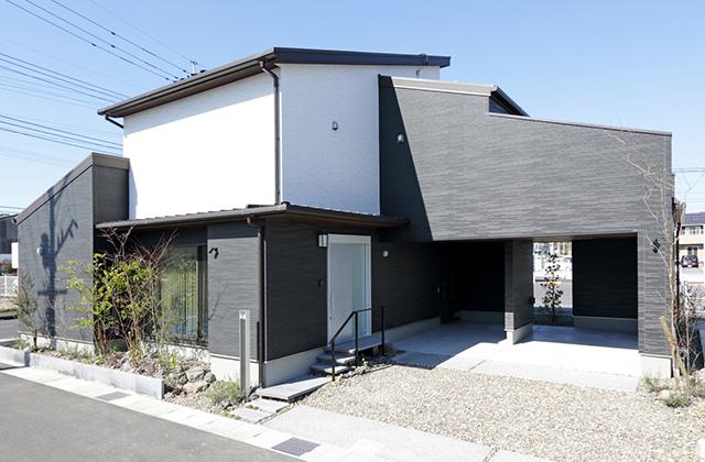 コンパクト・リッチな2階建ての家 万代ホーム