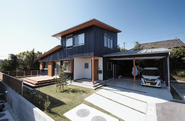 豊かに暮らせる小さな家 長期優良×自由設計×自然素材 - 外観 建築事例 マル川建設