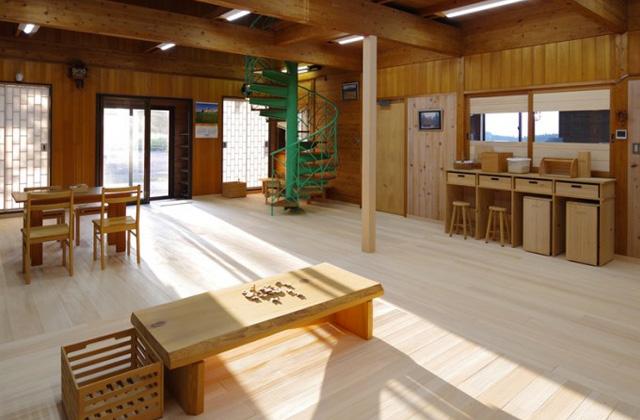 もみの木の空気環境を体感できる「もみの木の家」展示ルーム