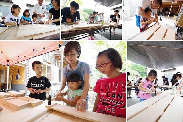 夏のスペシャルイベント「もみの木ワークショップ」