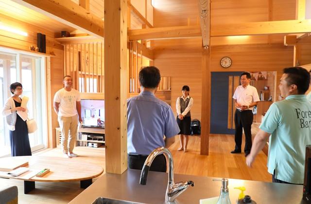 マルサ工業 鹿児島市上谷口町のもみの木の家で木と家づくりのことを学ぶ「第111回住環境体感セミナー」
