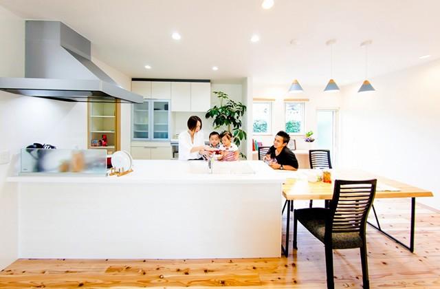 キッチン - 丸和建設 建築事例