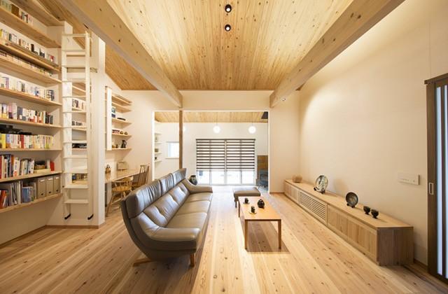 丸和建設 建築事例 - 鹿児島の伝統と最新の省エネ性能が織りなす癒しの平屋