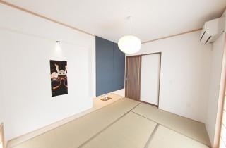 飾り棚のある和室 - 丸和建設 建築事例