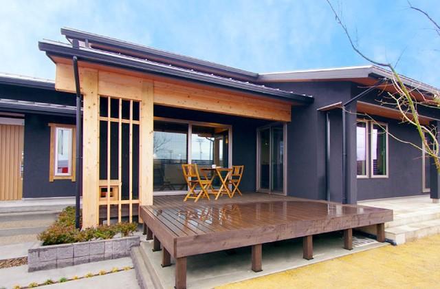丸和建設 札元2丁目「日本美モダン」平屋モデルハウス (鹿屋市)