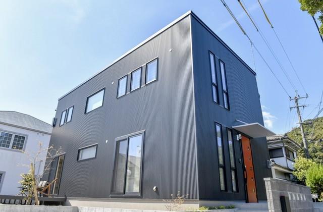 丸和建設 皇徳寺モデルハウス「和モダンインテリアで無駄のない総2階建ての家」