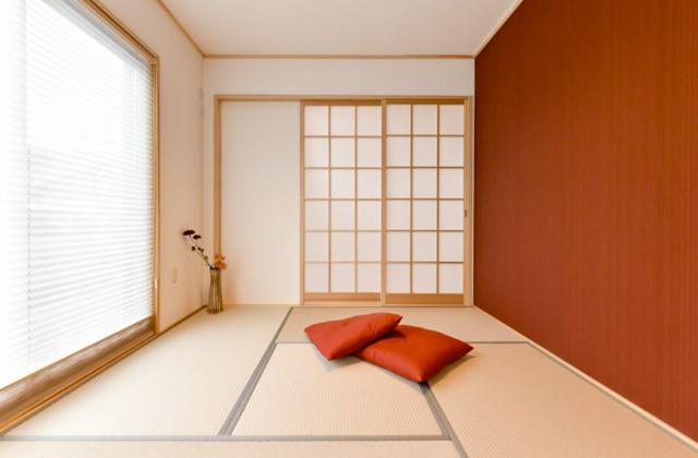 和室 皇徳寺モデルハウス「和モダンインテリアで無駄のない総2階建ての家」