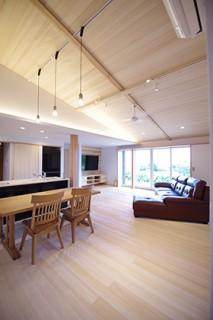 リビング・ダイニング MN様邸 | 建築実例 | 鹿児島の建築設計事務所 建築工房惠