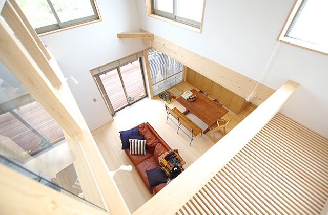 吹き抜け S様邸 | 建築実例 | 鹿児島の建築設計事務所 建築工房惠