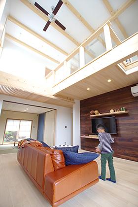 リビング ST様邸 | 建築実例 | 鹿児島の建築設計事務所 建築工房惠
