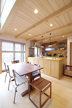 キッチンダイニング ST様邸 | 建築実例 | 鹿児島の建築設計事務所 建築工房惠