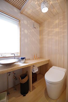 トイレ ST様邸 | 建築実例 | 鹿児島の建築設計事務所 建築工房惠
