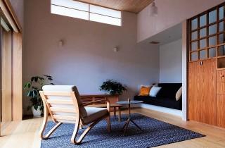リビング階段 - 「ひかりを導く住まい」(鹿児島市) - ベガハウスの建築事例