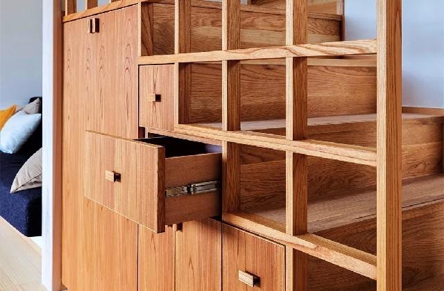 階段収納 - 「ひかりを導く住まい」(鹿児島市) - ベガハウスの建築事例