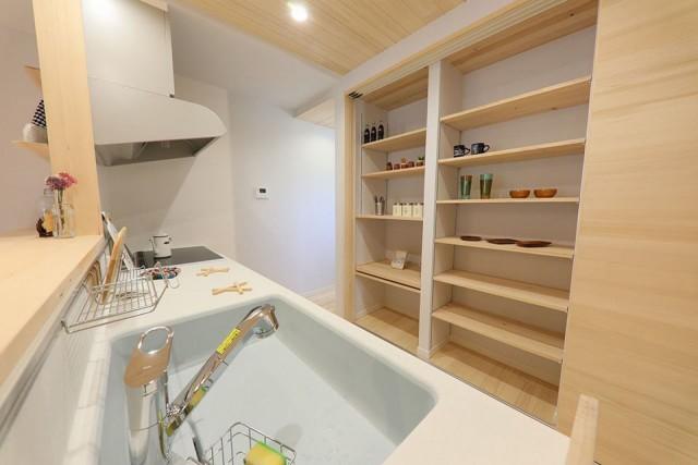 キッチン - 姶良市モデルハウス もみの木ハウスのモデルL