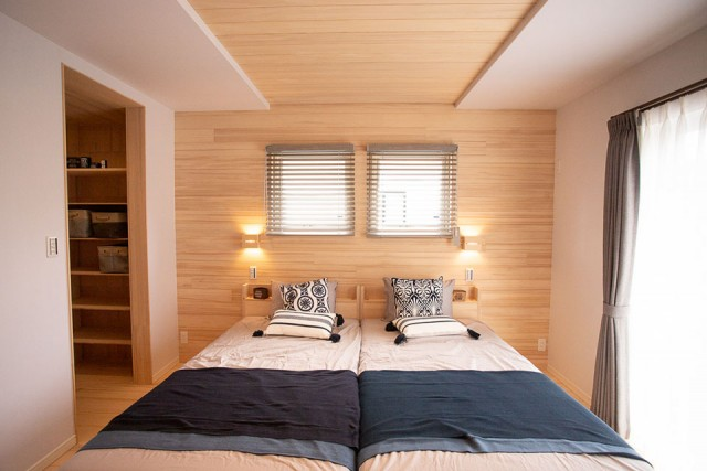 寝室 - 姶良市モデルハウス もみの木ハウスのモデルL