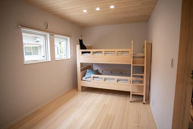 子供室 - 姶良市モデルハウス もみの木ハウスのモデルL