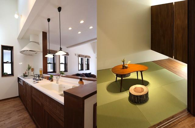 姶良市西餅田 万代ホームの分譲モデルハウス 4LDK+WIC+書斎【2階建て】