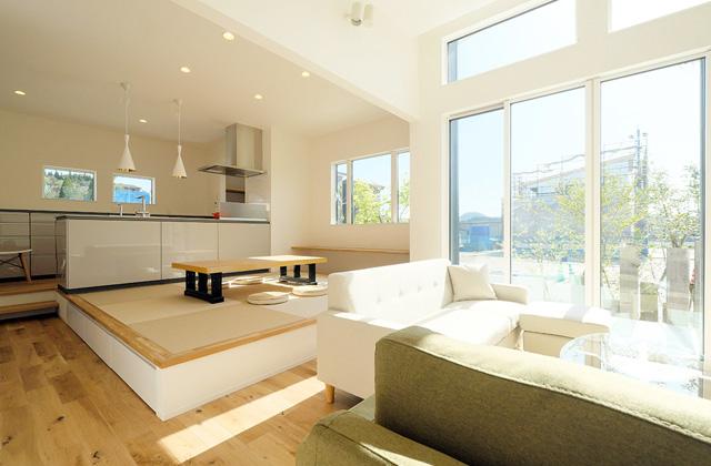 トータルハウジング 猪鹿倉モデルハウス C-flex「合理的なフルカスタム住宅」