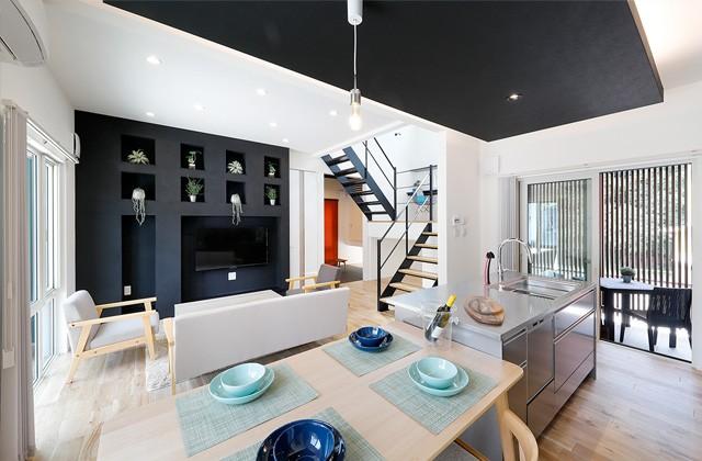 トータルハウジング 玉里モデルハウス「人気の収納を採用したスッキリ暮らす2階建て」(鹿児島市)