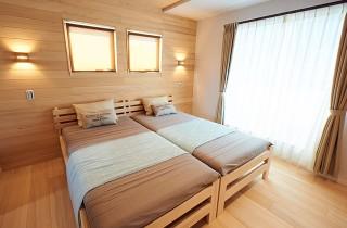 寝室 - もみの木ハウス・かごしま